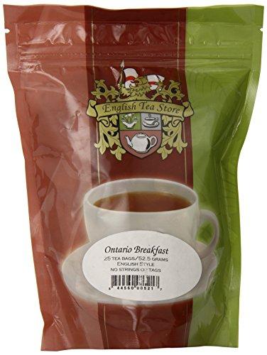 English Tea Store Ontario Breakfast Teabags, 25 - Ontario Stores