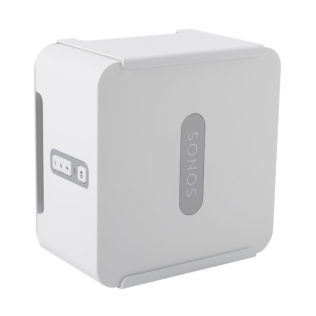 HIDEit Connect (White) | Wall Mount for Sonos Connect | Made in The USA