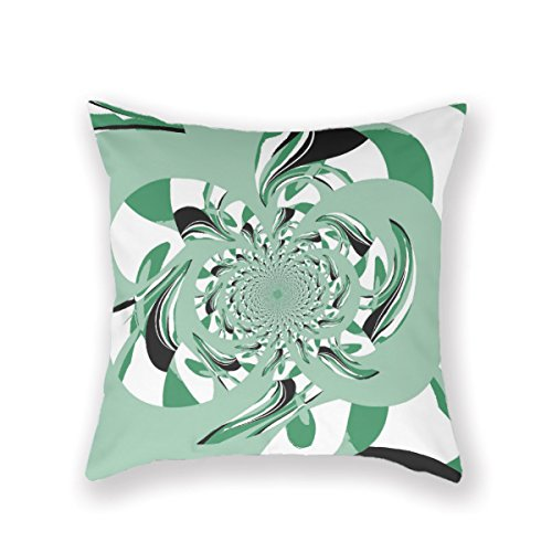 VintageSh0p Abstract Floral Deco Lime Pillow Case Throw Pillow Cover Customized Pillowcase Decorative Pillow Case Pillow Covers - Bolster Deco