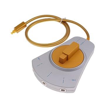 MagiDeal 3-Wege Audio-Verteiler Digital Audio LWL-Kabel: Amazon.de ...