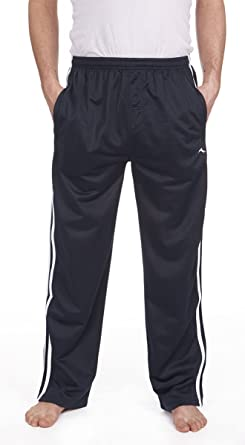 2f1944a86dc9 PRO-Tonic Mens Tracksuit Bottoms Silky Casual Gym Jogging Joggers Sweat  Pants Black: Amazon.co.uk: Clothing