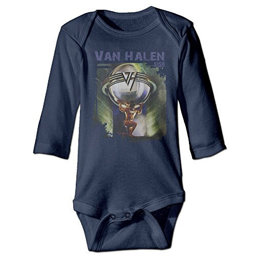 5150 Studio Van Halen Band Boys Girls Baby Onesies Outfits Long Sleeve