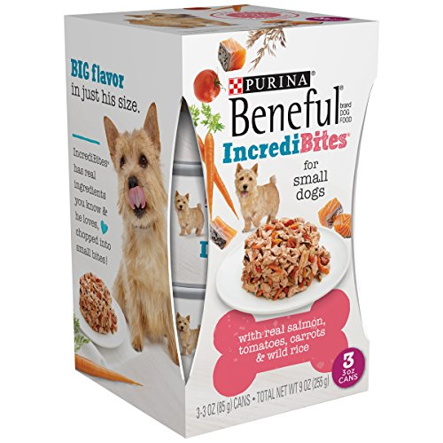 Beneful Chopped Blends - with Salmon, Tomatoes, Carrots & Wild Rice 9 Oz (Pack of 8) by Purina