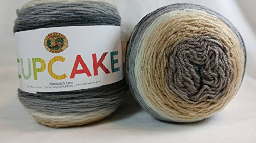 Lion Brand Yarn Cupcake Yarn, Coffee Break