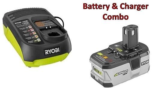 Amazon.com: Ryobi P203 de 18 V 2.4 AH Li-Ion batería & p131 ...