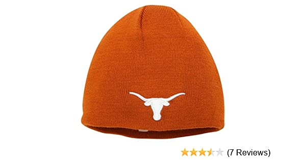 76c2f77cd8922 Amazon.com   Texas Longhorns Official NCAA One Size Knit Beanie Hat   Sports  Fan Beanies   Sports   Outdoors
