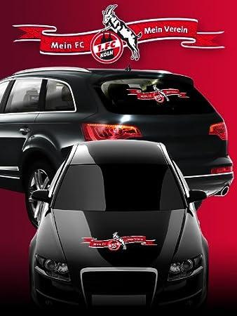 1 Fc Köln Autoaufkleber Ca 70 Cm Lang Amazonde Sport