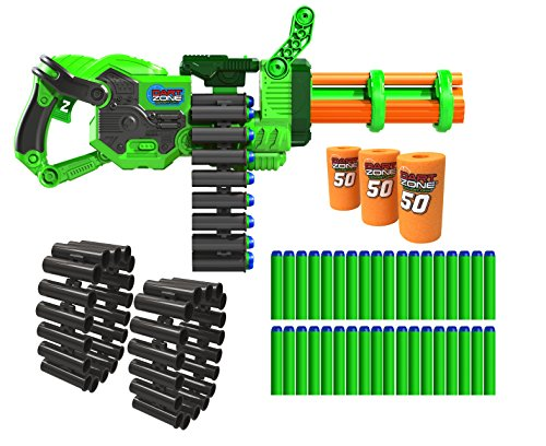 Dart Zone Super Commando Gatling Blaster ()