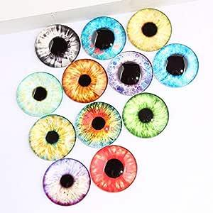 amazon com triangle box mix pupil eye photo round glass