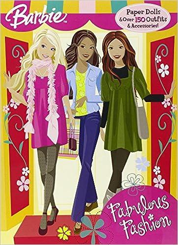 d9123b526d99 Fabulous Fashion (Barbie): Golden Books: 9780375847455: Amazon.com: Books