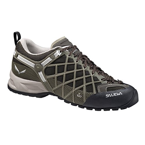 Salewa Men's Wildfire Vent Approach Shoe, Black/Juta, 11.5