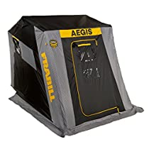 Frabill Aegis 2110 Top Insulated Flip-Over Ice Shelter With Jump Seats, 640410