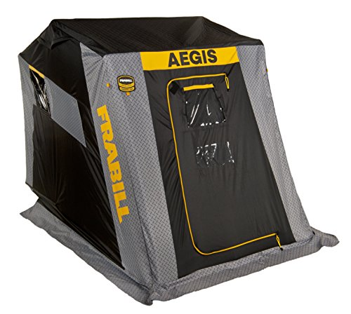 Frabill Aegis 2110 Top Insulated Flip-Over Front Door W/Jump - Fishing Clam Ice Shelter