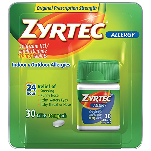 Zyrtec Allergy Relief Tablets, 30 Count
