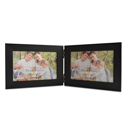 Amazoncom Giftgarden Hinged Picture Frame 35x5 Double Photo