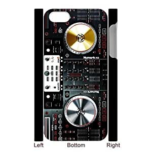 Personalized Design Digital mixer DJ turntable electronics iPhone 5 Case, Wholesale Hot Selling DJ electronics iPhone 5 Case