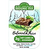 Balanced2Thrive Gluten Free Low Carb Mint Chocolate Diabetic Friendly Brownie Mix, 13 oz
