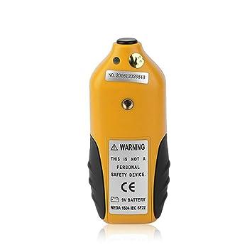 Heaviesk Detector de fugas de microondas HT-M2 Pantalla LCD ...