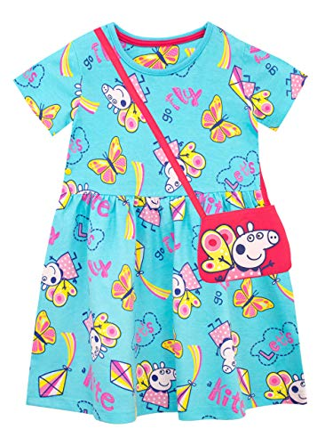 Peppa Pig Girls' Dress and Bag Set Size 3T Multicolored