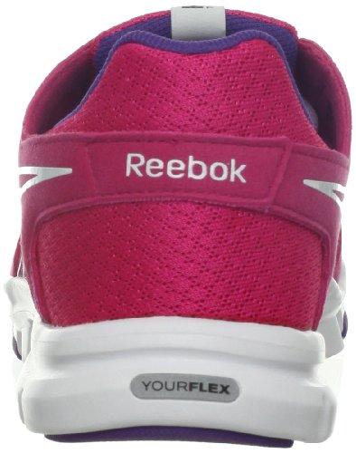 Reebok Dames Yourflex Trainette 3.0 Cross-training Schoen Kosmische Bes / Wit / Prospect Paars