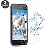 """iPhone 5S / 5 / SE Screen Protector, Zebre Premium Tempered Glass with 99.99% HD Clarity and 3D Touch Accuracy, Tempered Glass Screen Protector for iPhone 5S / 5 / SE / 5C [4"""" inch] [3-Pack]"""
