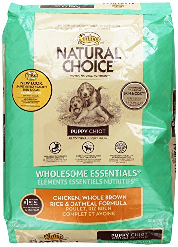 Natural Choice Wholesome Essentials Puppy Food Chicken, Whole Brown Rice And Oatmeal Formula, 15 Lbs.
