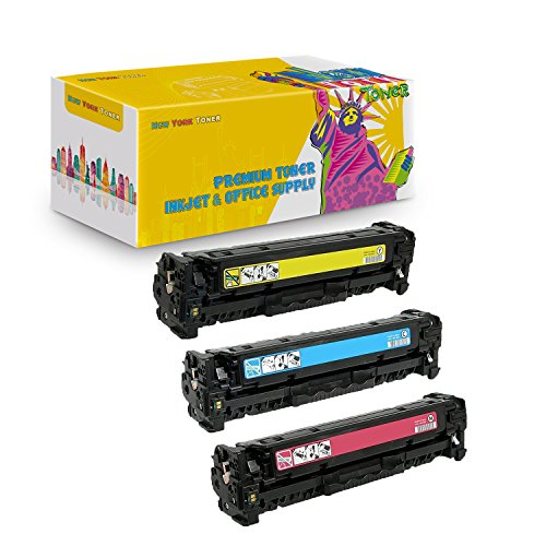 New York TonerTM New Compatible 3 Pack C4192A C4193A C4194A High Yield Toner for HP - Color LaserJet 4500   4500DN   4500HDN   4500N   4550   4550DN   4550HDN   4550N . -- Cyan Yellow Magenta (Laser C4192a Cyan Compatible)