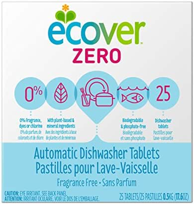 Dishwasher Detergent: Ecover Zero