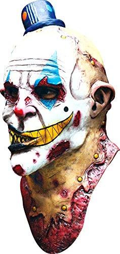 Costume Masks - Mime Zack Adult Latex Mask -