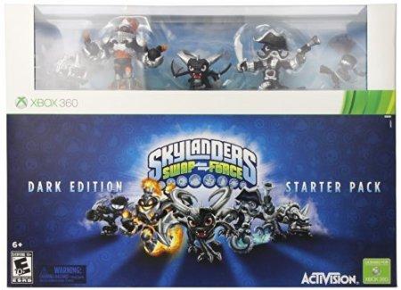 Skylanders SWAP Force Dark Edition Starter Pack - Xbox 360