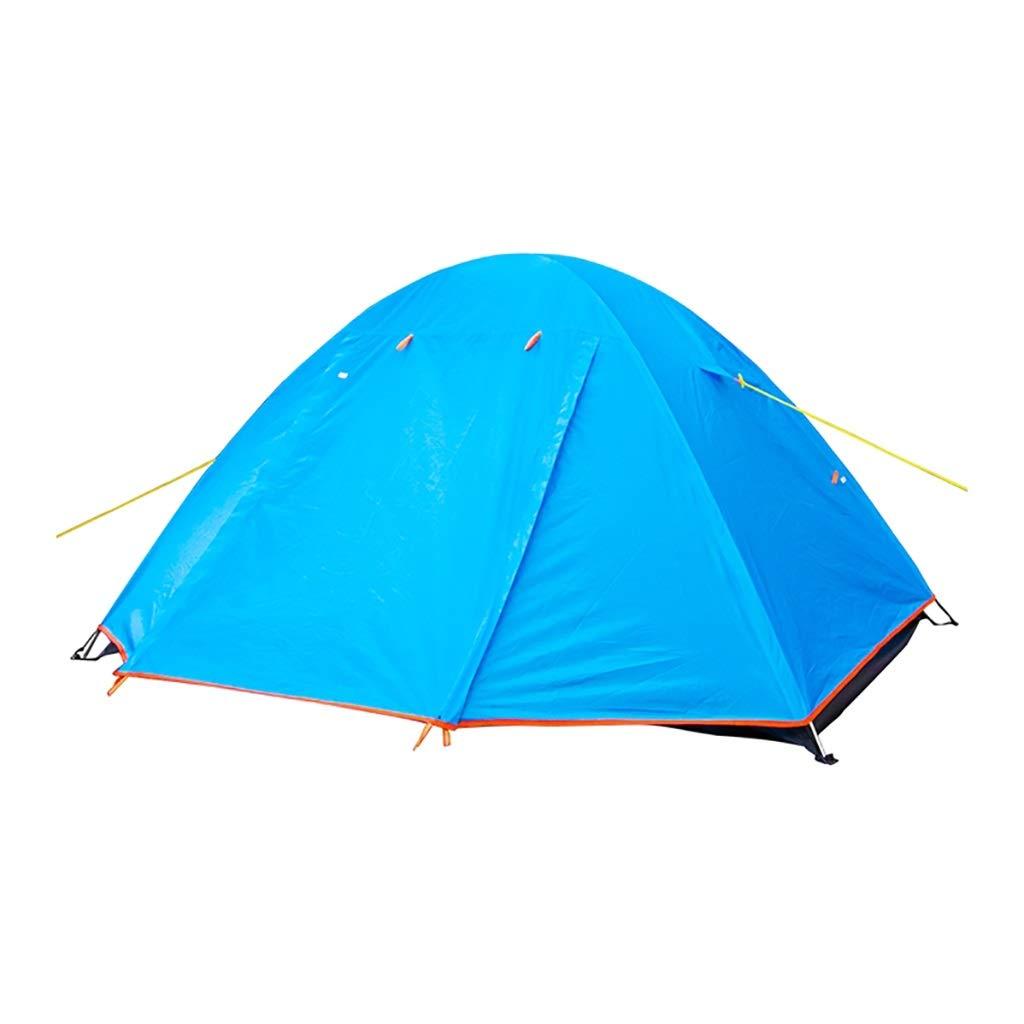 2人のキャンプのテント - 防水バックパッキングのテント、軽量の、簡単なピッチの睡眠のテント - 旅行のため テント本体   B07PRR7QD4