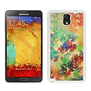 Popular Design Colorful Christmas Snowflake White Samsung Galaxy Note 3 Case 1