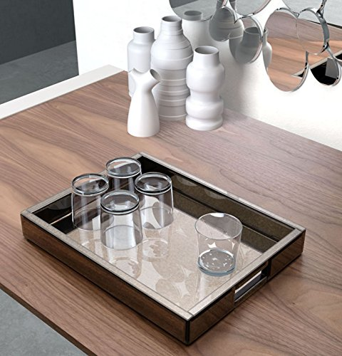 Zuo Grandmaster Mirror Tray, Multicolor