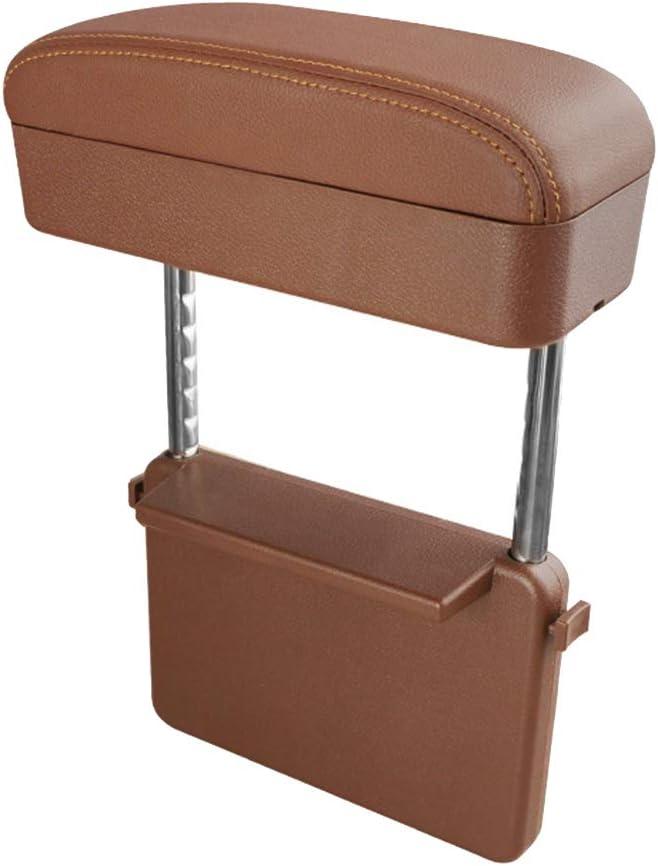 Multifunctional Armrest Storage Box,Wireless Charging Center Console Organizer Armrest Storage Box Holder Container Car Armrest Pad Car Handrail Box Glomixs Car Armrest Pad,Car Armrest Cushions