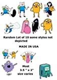 Adventure Time Jumbo Stickers Lot of 10