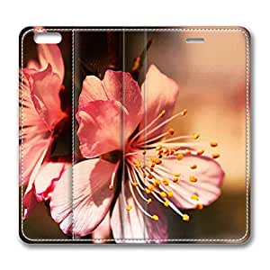 Brain114 6, iPhone 6 Case, iPhone 6 4.7 Case, Pink Beauty 2 PU Leather Flip Protective Skin Case for Apple iPhone 6 4.7