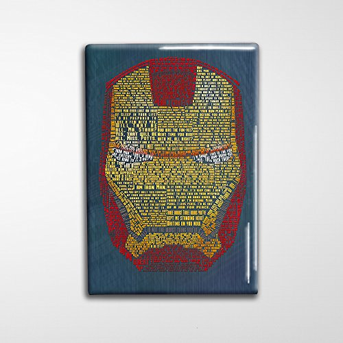 Iron Man Decorative Art Magnet - - Scott Suit Jeremy