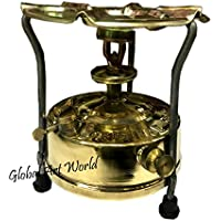 Global Art World Vintage Stylized soviet pressure Iron Camping And Outdoor kerosene stove (made of brass) – Home And Kitchen Ware HB 0248