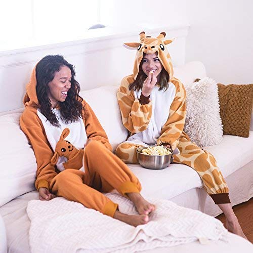 Emolly Animal Costume for Adults Orange