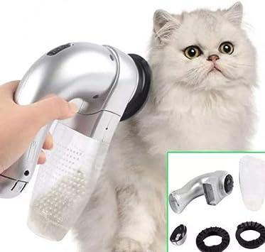 ZZQ Gato eléctrico portátil para Mascotas, Peine para Mascotas ...