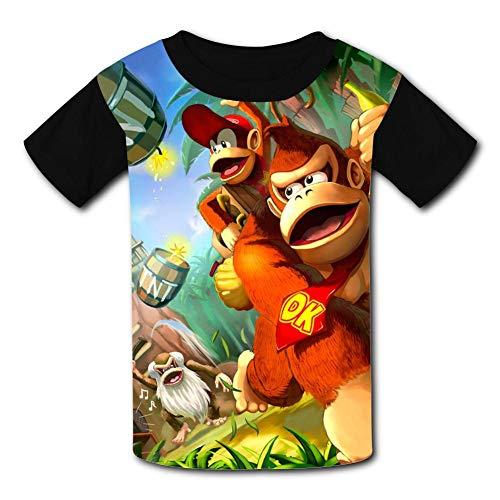 int Donkey Kong Country Short Sleeve T-Shirt M Black ()