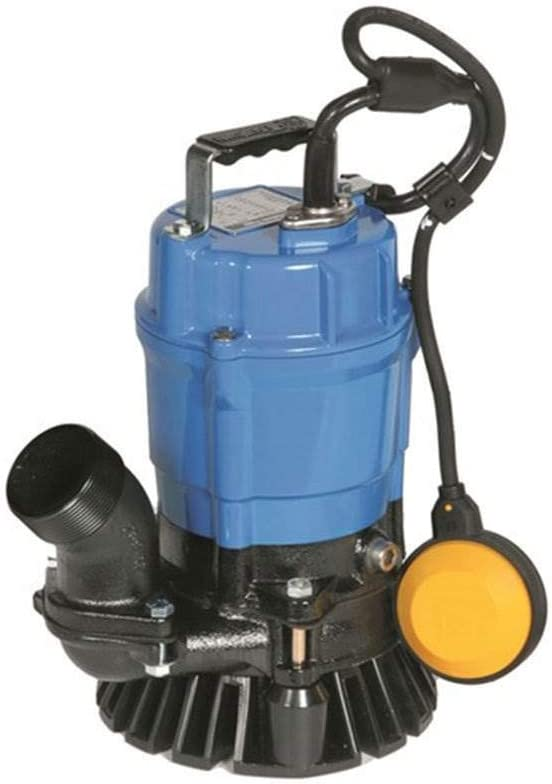Tsurumi Sand/Trash Submersible Water Pump - 3,000 GPH, 1/2 HP, 2in. Port, Model Number HSZ2.4S-62