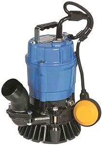 Tsurumi Sand/Trash Submersible Water Pump - 3,000 GPH, 1/2 HP, 2in. Port, Model Number HSZ2.4S-62