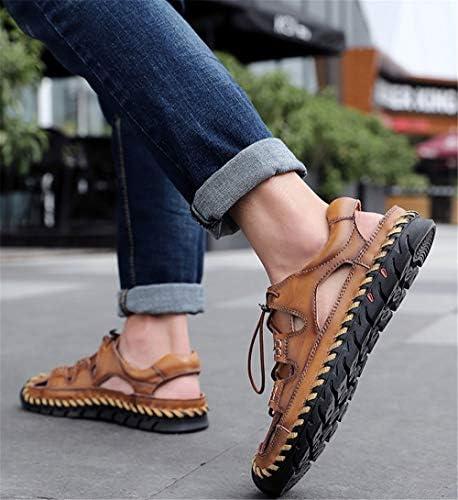 JHGK Hommes Sandales D'été Chaussures De Plage Mode Décontractée en Plein Air Respirant Chaussons Résistant À l'usure pour La Randonnée À Pied,47/285mm