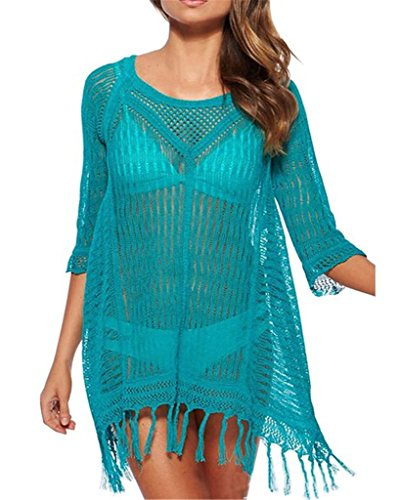 Staringirl Womens Kintted Swimwear Cover up product image