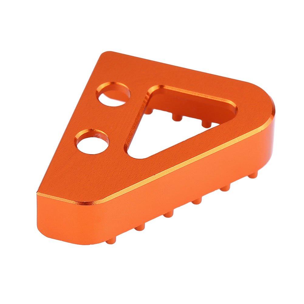 Qiilu Punto di Piastra Posteriore del Pedale del Freno Posteriore CNC del Moto