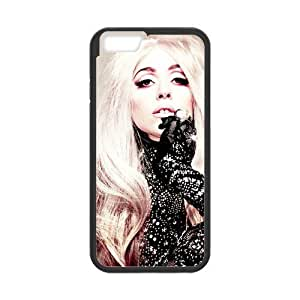 iPhone 6 Case, [lady gaga] iPhone 6 (4.7) Case Custom Durable Case Cover for iPhone6 TPU case(Laser Technology)