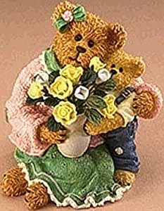 Boyds Momma Bearylove with Junior, I Love You Mom! Bearstone #82550