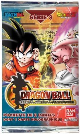 BANDAI Dragon Ball Z – Paquete de 8 Tarjetas – Juego de Cartas – un o un Recuerdo, 1 Tarjeta holográfica – Serie 3: Amazon.es: Juguetes y juegos