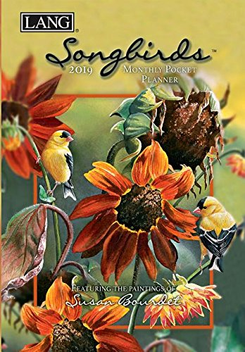 Songbirds 2019 Monthly Pocket Planner